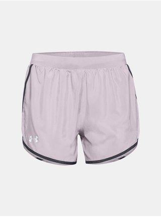 Kraťasy Under Armour W UA Fly By 2.0 Short - svetlofialová