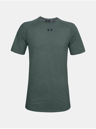 Tričko Under Armour UA Charged Cotton SS - šedá