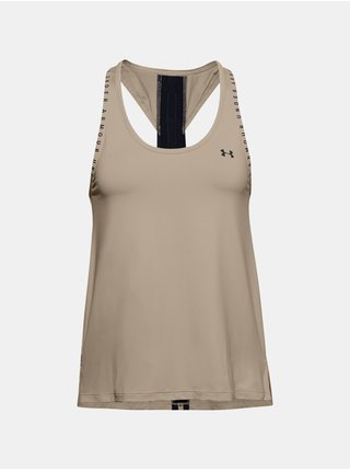 Tielko Under Armour UA Knockout Tank - starorůžová
