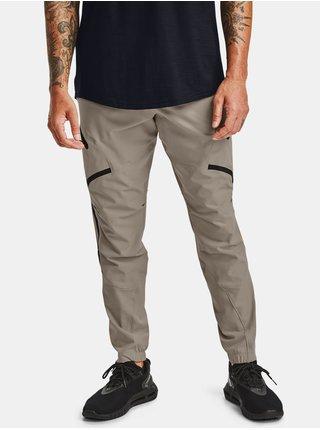 Kalhoty Under Armour UNSTOPPABLE CARGO PANTS - šedá