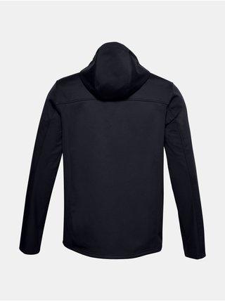 Bunda Under Armour UA CGI Shield Hooded FZ - černá