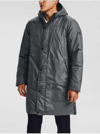 Bunda Under Armour Armour Insulated Bench Coat - šedá