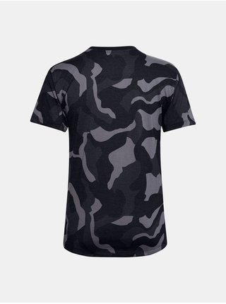 Tričko Under Armour Live Fashion Denali Print SS - Čierná