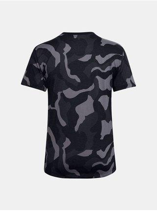 Tričko Under Armour Live Fashion Denali Print SS - černá