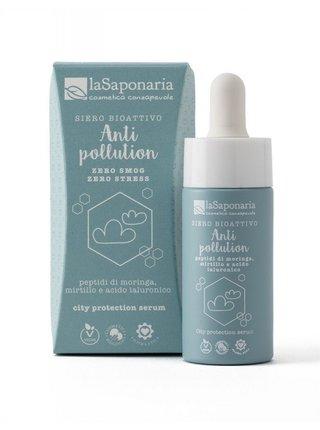 laSaponaria Bioaktivní pleťové sérum pro ochranu před vlivy města BIO (15 ml)