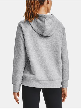 Mikina Under Armour Rival Fleece HB Hoodie - šedá