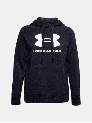 Mikina Under Armour Rival Fleece Logo Hoodie - černá