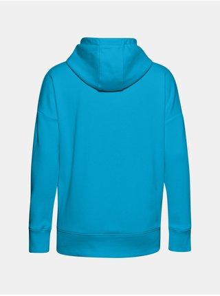 Mikina Under Armour Rival Fleece FZ Hoodie - modrá