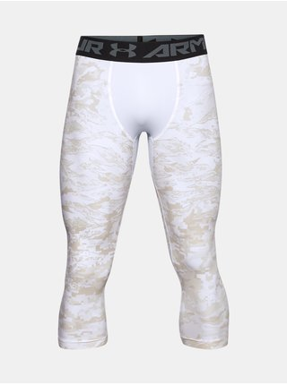Legíny Under Armour UA HG 3/4 Print Leggings - bílá