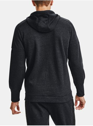 Mikina Under Armour Accelerate Off-Pitch Hoodie - Čierná