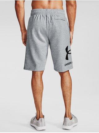 Kraťasy Under Armour UA Rival FLC Big Logo Shorts-GRY