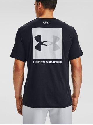 Tričko Under Armour UA BOX LOGO SS - černá