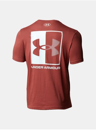 Tričko Under Armour UA BOX LOGO SS-RED