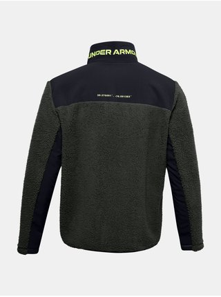 Bunda Under Armour LEGACY SHERPA SWACKET - khaki