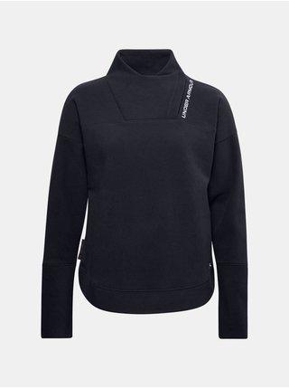 Mikina Under Armour Recover Fleece Wrap Neck - černá
