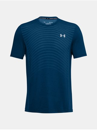 Tričko Under Armour UA Seamless Wave SS - modrá