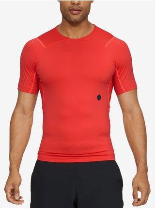 Kompresní tričko Under Armour Hg Rush Compression Ss - červená