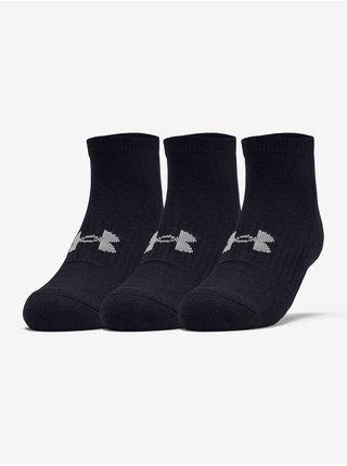 Ponožky Under Armour Training Cotton Locut - černá