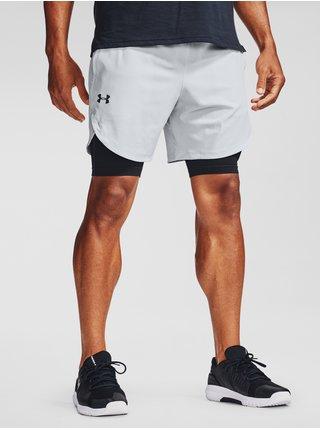 Kraťasy Under Armour UA Stretch-Woven Shorts - bílá