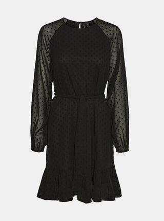 Černé šaty VERO MODA Thea