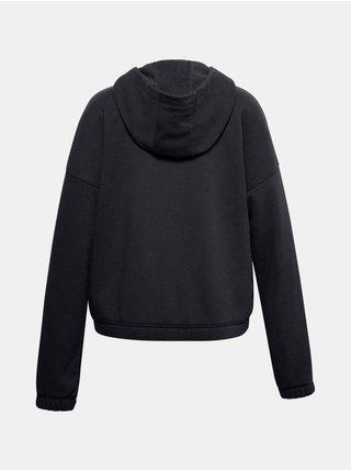 Mikina Under Armour Rival Fleece FZ Hoodie - černá