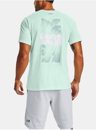 Tričko Under Armour BASKETBALL GRAPHIC TEE - mentolová