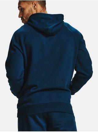 Mikina Under Armour Rival Fleece Hoodie - tmavě modrá