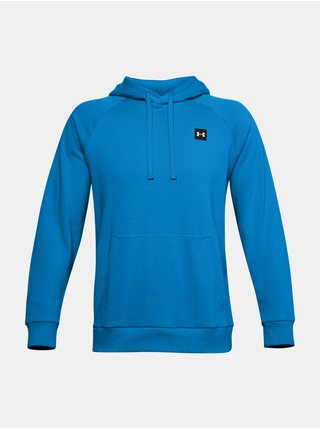 Mikina Under Armour UA Rival Fleece Hoodie - modrá