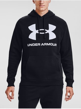 Mikina Under Armour UA Rival Fleece Big Logo HD - černá
