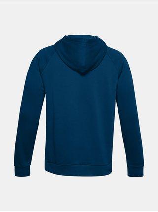 Mikina Under Armour UA Rival Fleece Big Logo HD - modrá