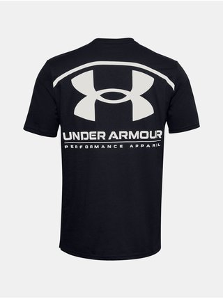 Tričko Under Armour PERFORMANCE BIG LOGO SS - Čierná