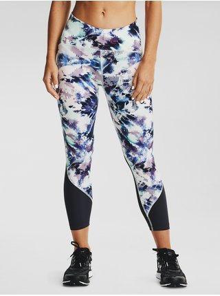 Legíny Under Armour W UA Fly Fast Printed Crop - modrá