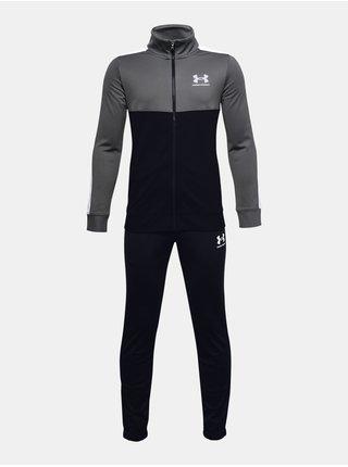 Tepláková souprava Under Armour UA CB Knit Track Suit - černá