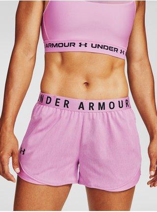 Kraťasy Under Armour Play Up Twist Shorts 3.0 - svetlofialová