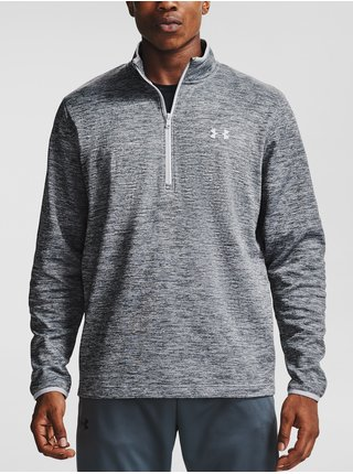 Mikina Under Armour Armour Fleece 1/2 ZIP - šedá