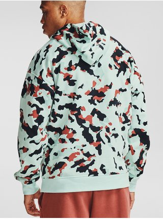 Mikina Under Armour Rival Fleece Camo HD - modrá