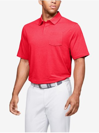 Tričko Under Armour Charged Cotton Scramble Polo