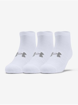 Ponožky Under Armour Training Cotton Locut - bílá