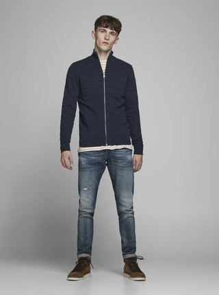 Modrý sveter Jack & Jones Sailor
