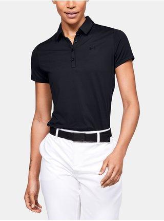 Tričko Under Armour Zinger Short Sleeve Polo - Čierná