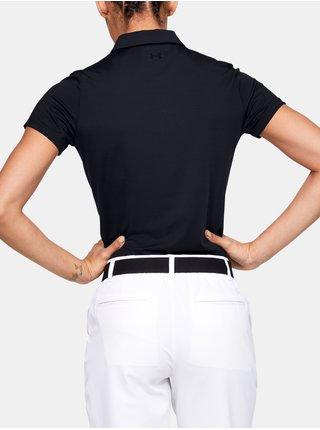 Tričko Under Armour Zinger Short Sleeve Polo - černá