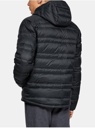 Bunda Under Armour Armour Down Hooded Jkt - černá