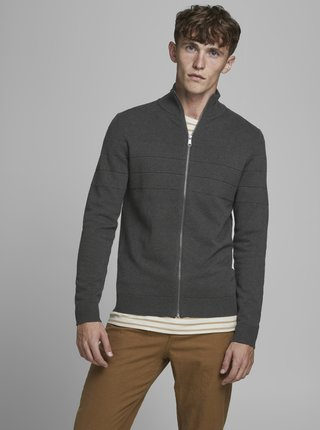 Šedý svetr Jack & Jones Sailor