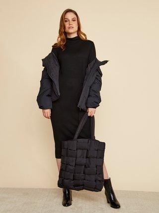 Čierne svetrové šaty ZOOT Susie