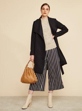 Černý dámský kabát s příměsí vlny ZOOT Timea