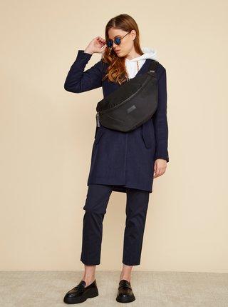 Tmavomodrý dámsky kabát s prímesou vlny ZOOT Baseline Klara