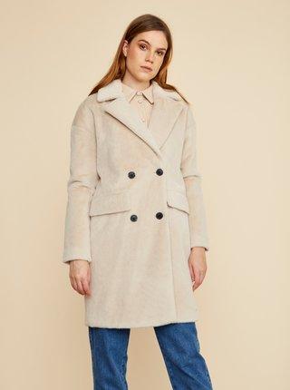 Béžový dámský zimní kabát z umělého kožíšku ZOOT Stephany