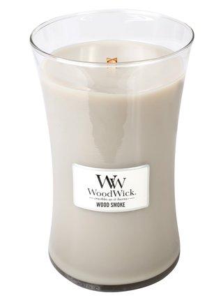 WoodWick vonná svíčka Wood Smoke velká váza