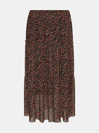 Červená květovaná sukně Noisy May Lesly