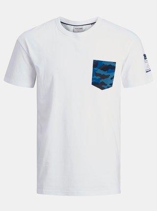 Biele tričko Jack & Jones